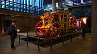Museum of London interior Lord Mayors Coach.jpg