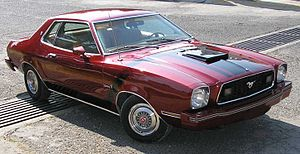 Ford Mustang (second generation) - Mustang II Ghia