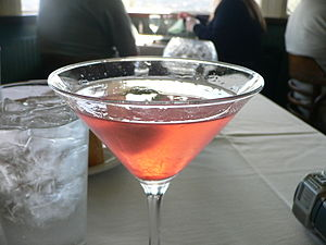 Cosmopolitan (cocktail) - Image: My first Cosmo