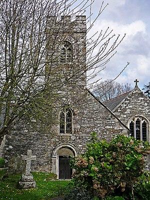 Mylor, Cornwall - Mylor parish church