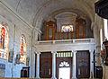 Nérac - Eglise Saint-Nicolas - Tribune et orgue.jpg