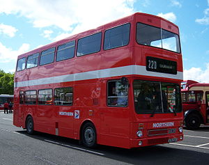 Northern General Transport Company - Preserved MCW Metrobus in May 2009