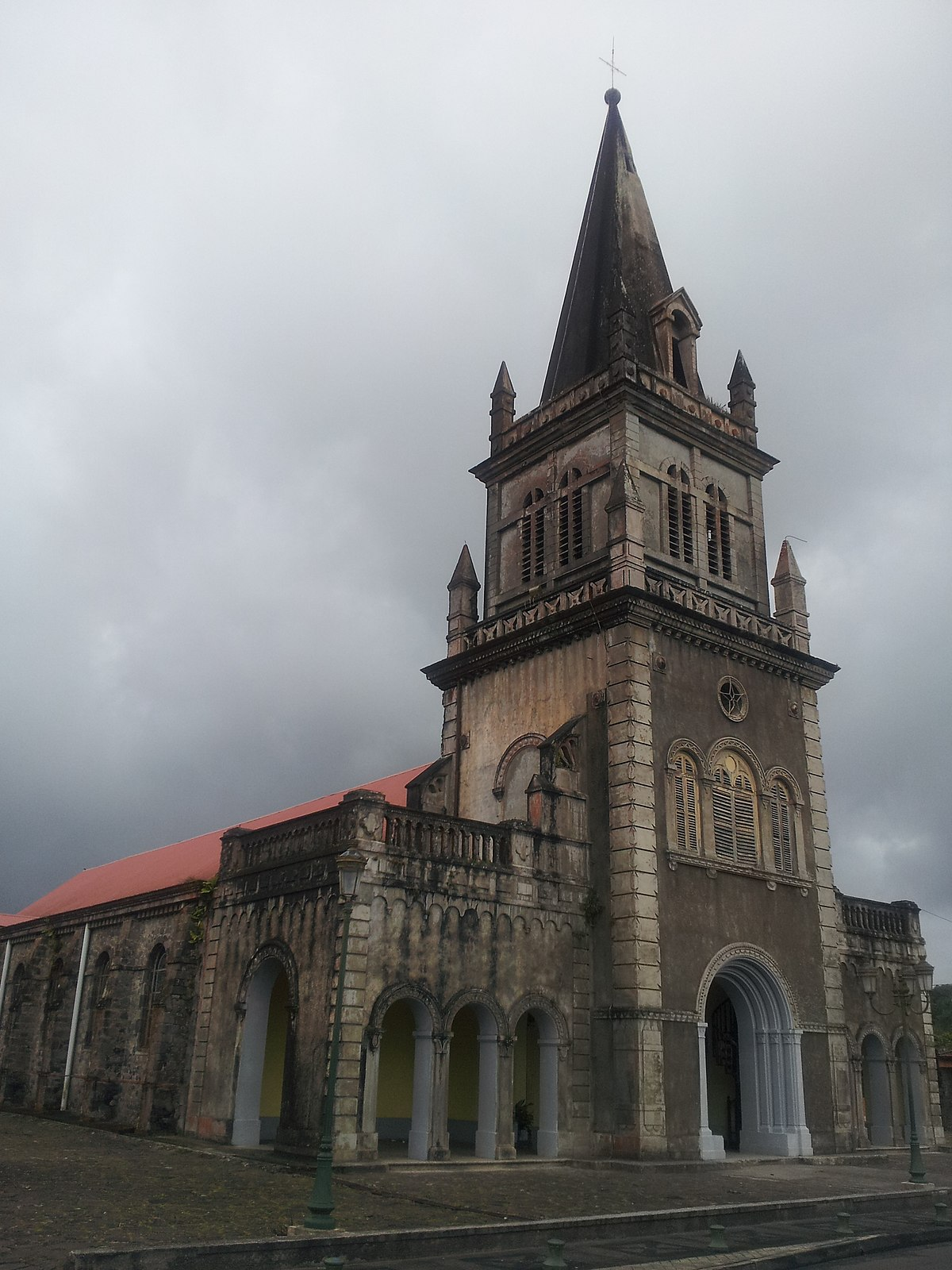 Église Notre-Dame de la Délivrande du Morne-Rouge — Wikipédia