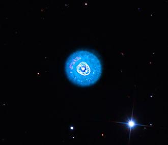 Eskimo Nebula - Eskimo Nebula in 32 inch telescope