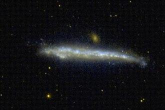 NGC 4631 - An ultraviolet image of NGC 4631 taken with GALEX. Credit: GALEX/NASA.