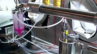Biosafety cabinet - Aerosol control platform inside a Class III Biosafety Cabinet