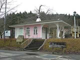 Noto-Kashima Station Railway station in Anamizu, Ishikawa Prefecture, Japan