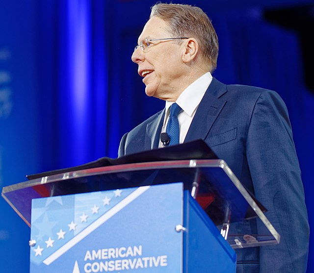 NRA Wayne LaPierre at CPAC 2017 on February 24th 2017 a by Michael Vadon 03