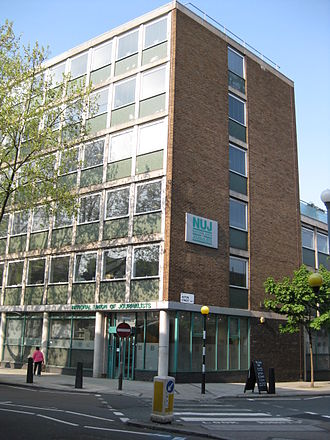 National Union of Journalists - NUJ Headquarters, Gray's Inn Road, London