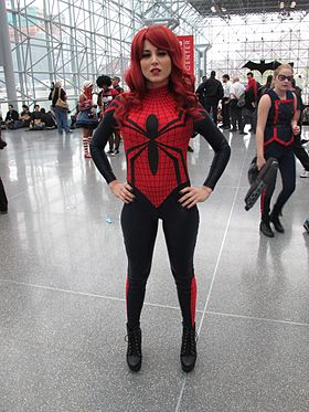 Cosplay de Spider-Girl