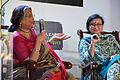 Nabaneeta Dev Sen and Antara Dev Sen - Kolkata 2013-02-03 4339.JPG