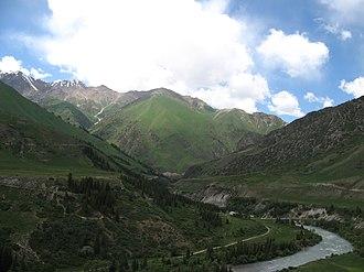 Naryn Region - Naryn countryside
