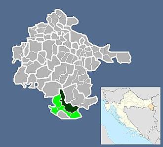 Drenovci - Image: Naselje Drenovci