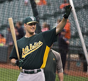 Nate Freiman - Freiman with the Oakland Athletics