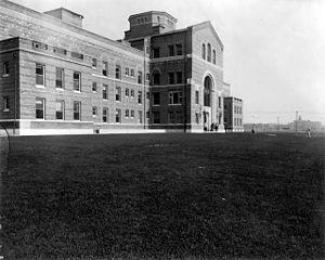 Frances Wisebart Jacobs - National Jewish Hospital, c. 1920, built as the result of Frances Wisebart Jacobs' efforts