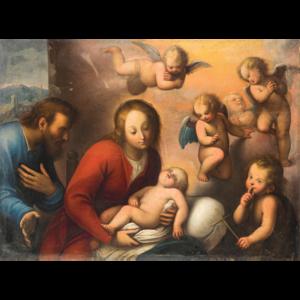 Orsola Maddalena Caccia - Image: Natività (Nativity)