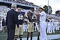 Navy Midshipmen 2012 football team captains.jpg