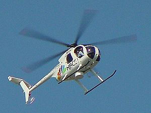 WCMH-TV - WCMH's former helicopter.