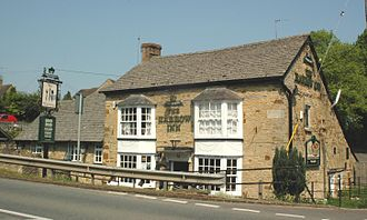 Enstone - The Artyard Cafe/Pub, Neat Enstone
