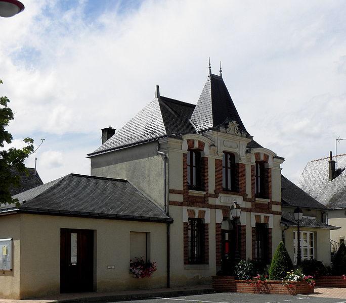 Mairie de Neau (53).