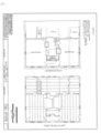 Nehemiah Royce House, North Main Street, Wallingford, New Haven County, CT HABS CONN,5-WALF,4- (sheet 1 of 2).png