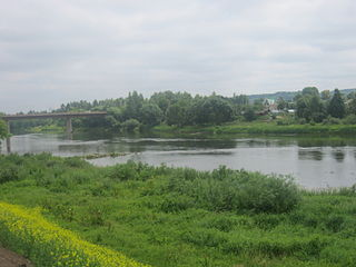 The river Neris at Jonava town. Photo:Bearas