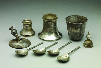 Nether Stowey - The Nether Stowey hoard dates from the English Civil War.