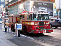 New York. Seventh Avenue. Fire Truck (2804165692).jpg