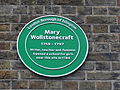 Newington Green plaque.JPG