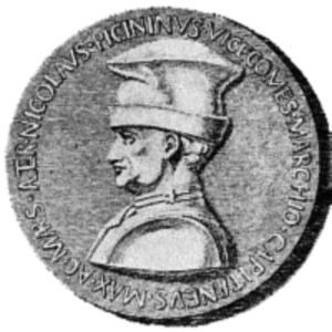 Battle on the Po (1431) - Niccolò Piccinino, condottiero of the Duchy of Milan