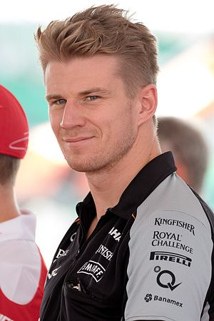 2015 6 Hours of Spa-Francorchamps - Nico Hülkenberg (pictured in 2016) made his first sports car racing appearance at Spa-Francorchamps.