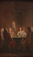 Christian V Presents Danish Law 1683