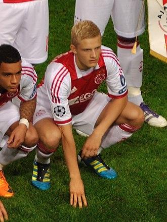 Nicolai Boilesen - Boilesen lining up for Ajax in September 2011.