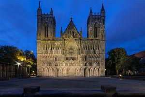 Nidaros cathedral front