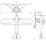 Nieuport Delage Sesquiplan 3-view L'Aerophile September,1921.png