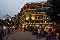 Night View of Lahore Fort Food Street.JPG