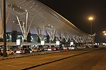 Night view of Bangalore Airport, Nov 2015.jpg
