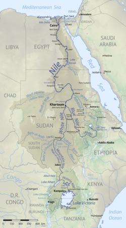 אגן הניקוז של הנילוס