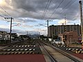 Nippo Main Line from Japan National Route 500.jpg