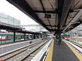 Nishitetsu-Yanagawa Station-platform 20150523.jpg