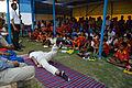 Nisith Ranjan Chowdhury Explains Half Salbhasana Benefits - Football Workshop - Nisana Foundation - Sagar Sangha Stadium - Baruipur - South 24 Parganas 2016-02-14 1396.JPG
