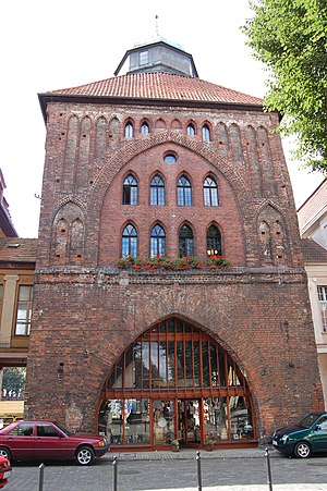 Słupsk - New Gate (14th century)