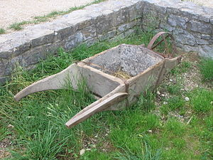 Wheelbarrow - Older wheelbarrow