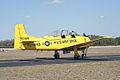 North American T-28A Trojan USAF N9102Z Taxi out TICO 13March2010 (14412893358).jpg