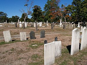 North Burial Ground (Fall River, Massachusetts) - Image: North Burial Ground Fall River