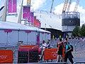 North Greenwich O2 dome. 2012 olympic games (7721520906).jpg
