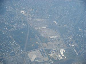 Nicetown–Tioga - Aerial view of Nicetown-Tioga