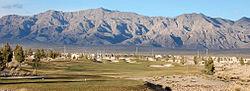 North Las Vegas and the surrounding Las Vegas Range