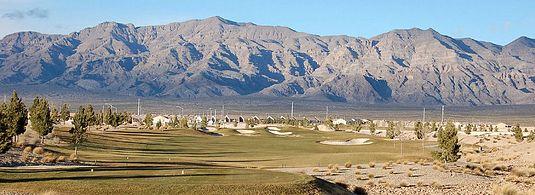 Mountains around North Las Vegas