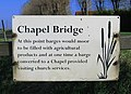Notice affixed to Chapel Bridge - geograph.org.uk - 607417.jpg